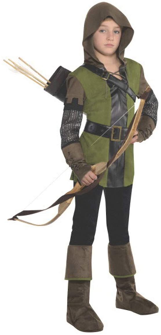 amscan Boys Prince of Thieves Robin Hood Costume - Large (12-14)   2 Ct.