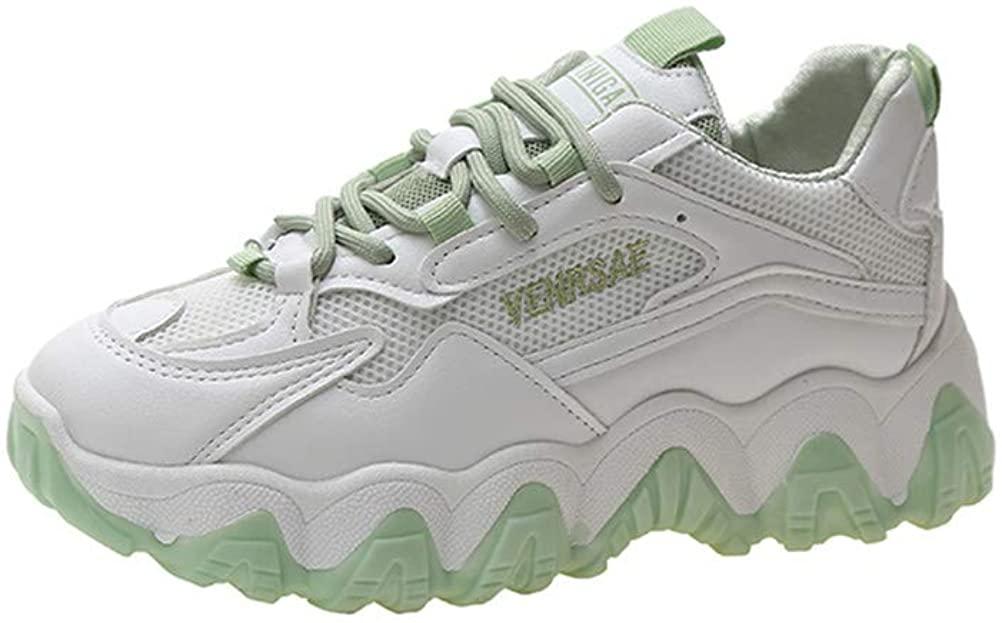 Womens Fashion Sneakers Hidden Heel Shoes Lightweight Casual Wedge Sneaker for Indoor Outdoor Walking
