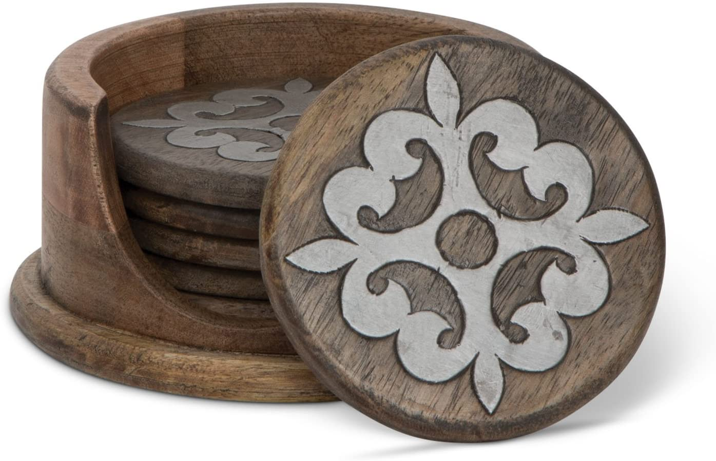 Wood Coaster (Set of 6)