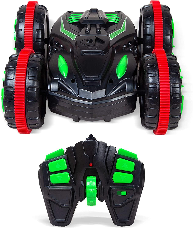 Boley Stunt Drifter RC Car - 1 Pack Kids Remote Control Car - Amphibian Fast RC Cars for Boys and Girls