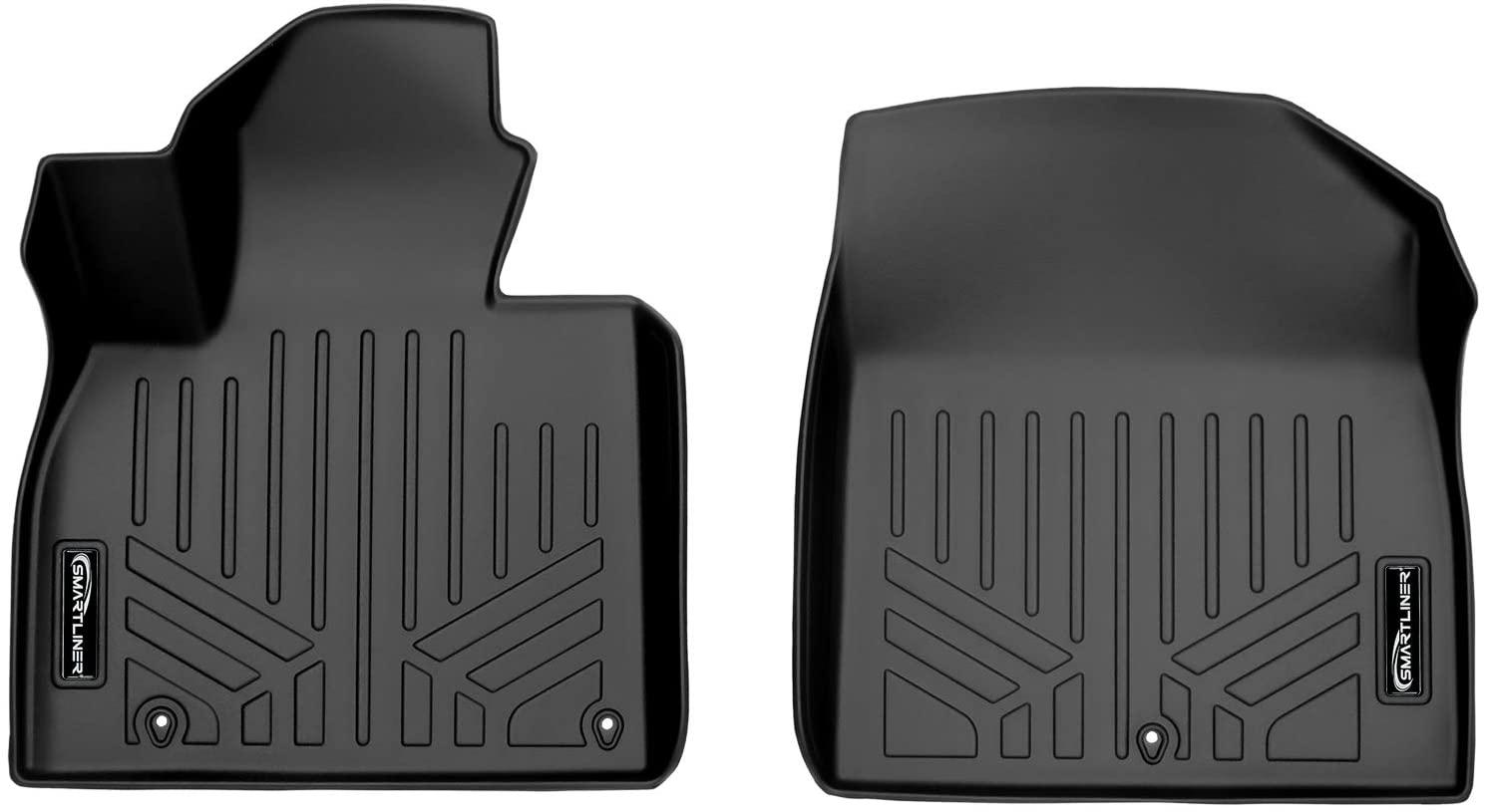 MAXLINER Custom Fit Floor Mats 1st Row Liner Set Black for 2020 Kia Telluride