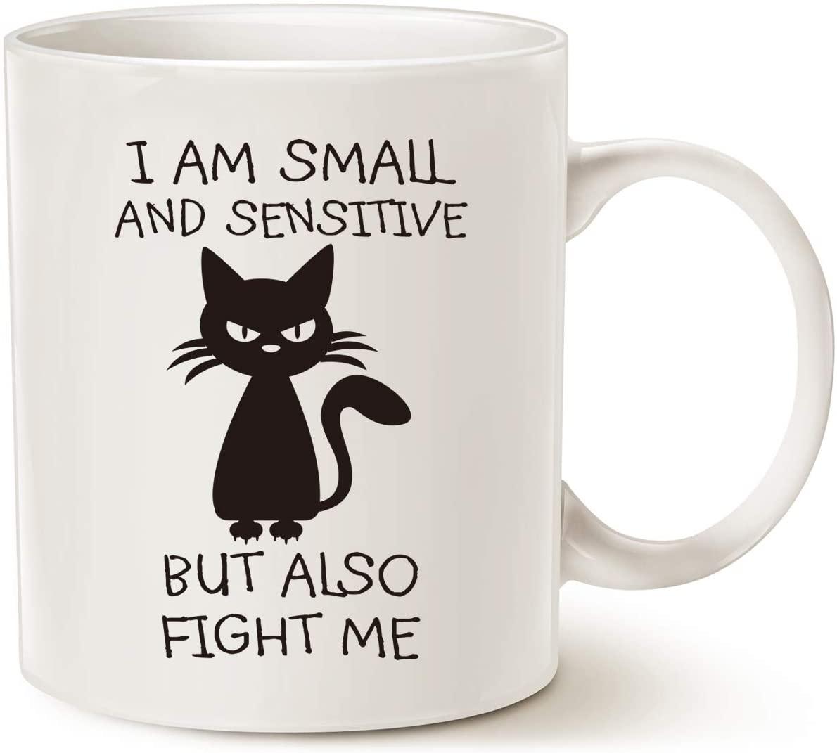 MAUAG Funny Quote Coffee Mug Christmas Gifts, Birthday Gag Gift Ideas for Friend Cup, White 11 Oz