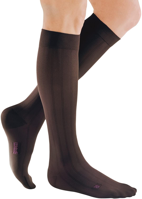 mediven for Men Classic, 20-30 mmHg, Calf High Compression Stockings, Closed Toe