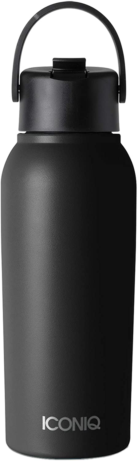 ICONIQ 32 oz X Bottle - Stainless Steel Insulated Water Bottle with Straw Lid