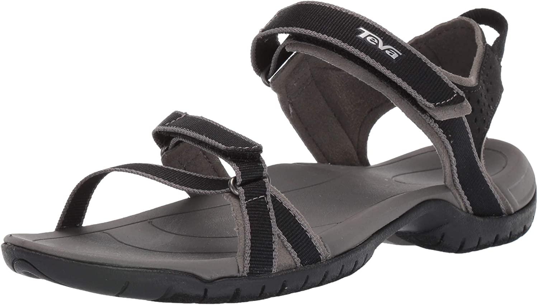 Teva Womens Verra Sport Sandal Black 6 Medium US