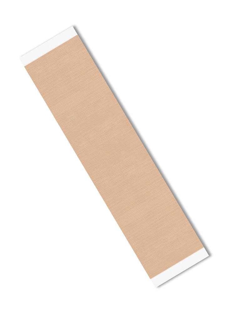 3M 2-12-5-5151 Light Brown PTFE Glass Cloth Tape -100 to 500 Degrees F Performance Temperature, 0.0053