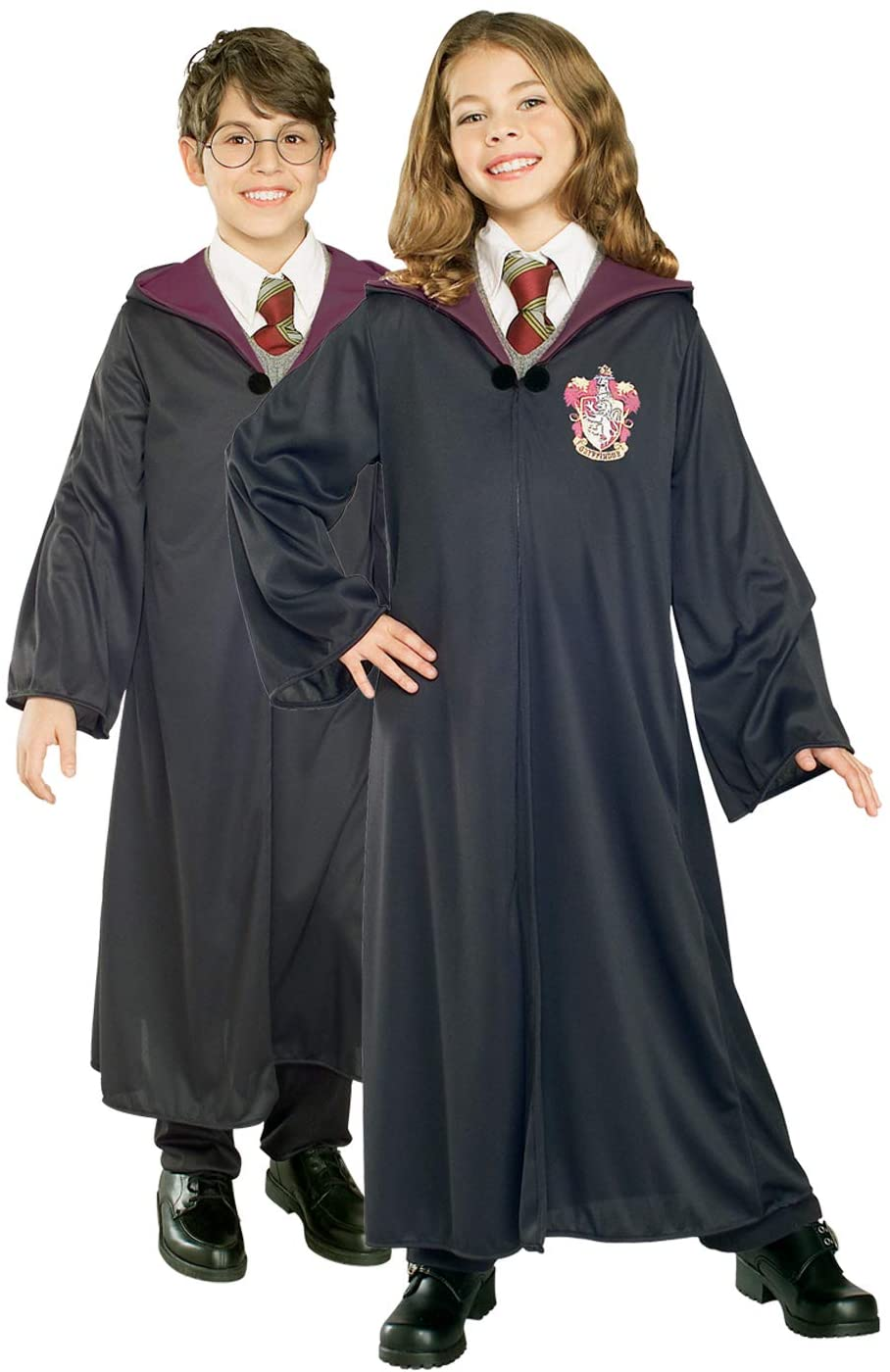 Rubie's Official Harry Potter Gryffindor Classic Robe Costume, Childs Size Medium Age 5-6 Years