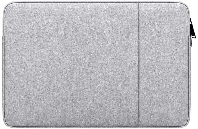 PINHEN 14-15.4 Inch Laptop Sleeve Bag Compatible with Mac Pro 15 Retina/Touch Bar A1707/MacBook Pro 16 A2141,Chromebook 14,Stream 14,Notebook Computer,Chromebook Laptop Waterpoof Bag,Gray
