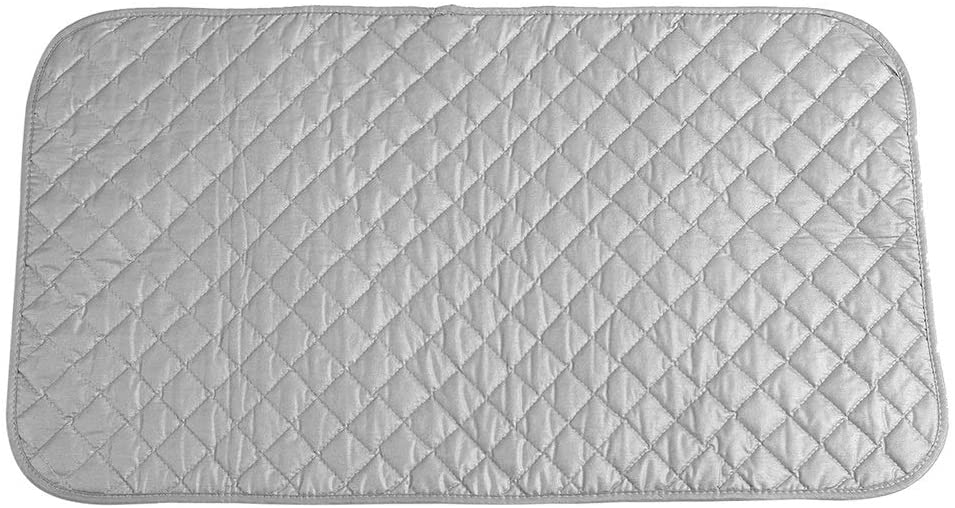 Delaman Ironing Pad - Portable Foldable Ironing Mat Blanket for Table Top and Travelling Ironing Accessory