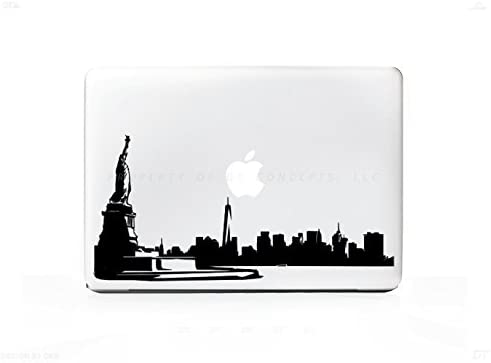 New York City Skyline 1 Sticker Decal For MacBook Pro, PC, Laptop, Window, Car, or Wall