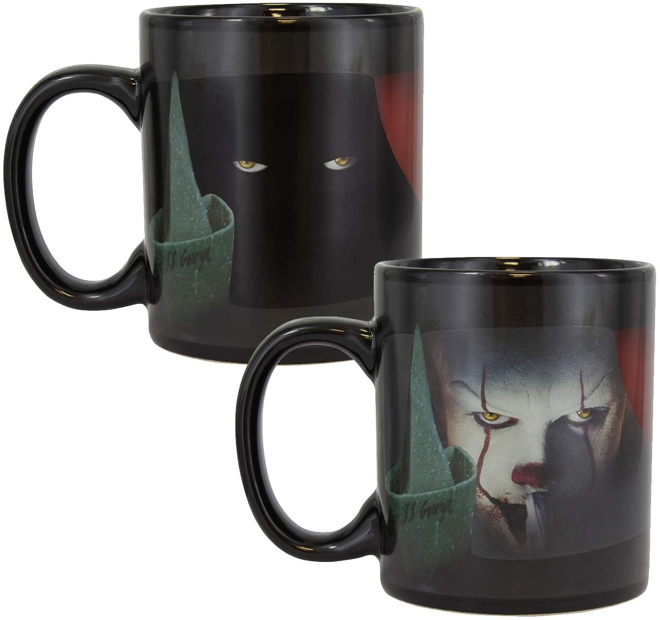 Paladone Pennywise Heat Change Mug - IT Horror Movie Drinkware