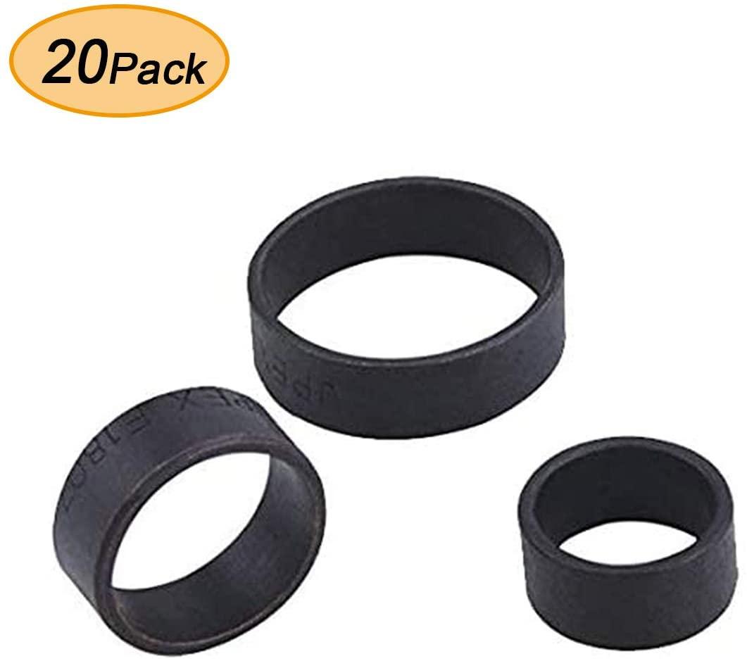 AB 3/4 Inch Pex Pipe Crimp Rings, (20-pack) for Plumbing/Crimp/Barbed Fittings