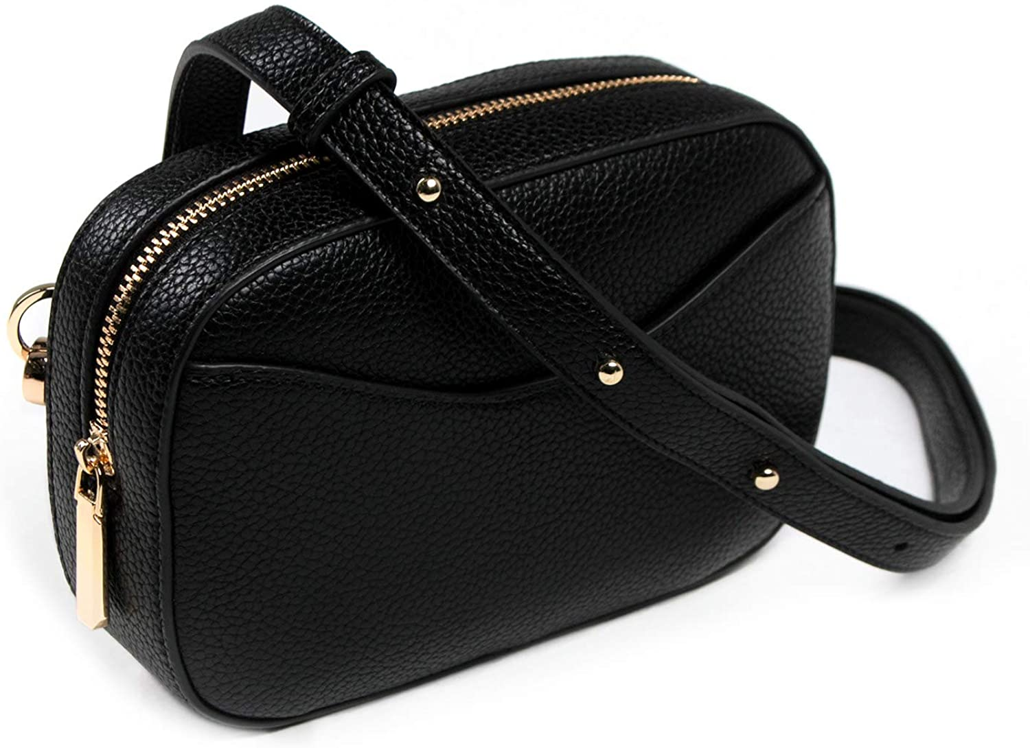 MODESSE Premium Leather Belt Bag for Women | Trendy, Stylish Fanny Pack | Fits U.S. Sizes 2-16