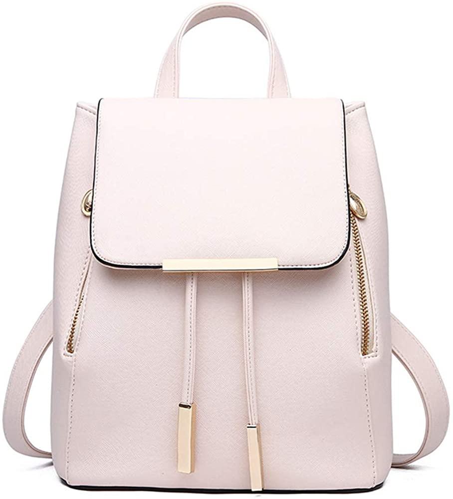 Mini Backpack Purse for Women Cute PU Leather Satchel School Bags Travel Daypacks