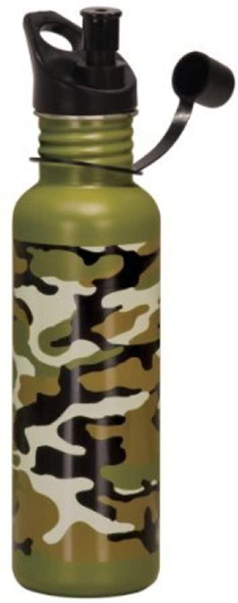 Stainless Steel Water Bottle - 25oz (Camouflage) by Rock Ridge