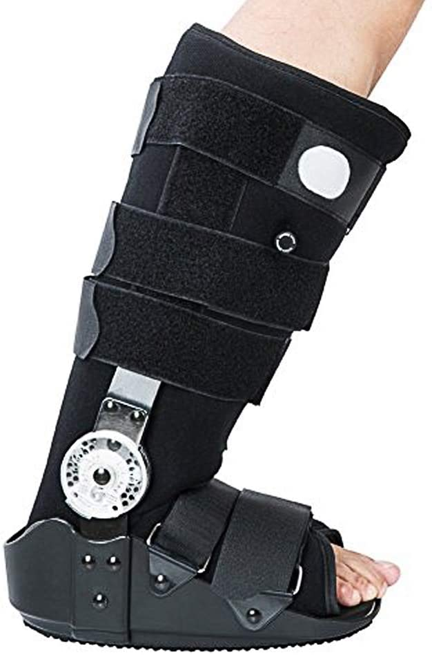 Kefit ROM Air Cam Walking Boot Walker Fracture Boot for Sprained Ankle Cam Boot (M: Foot Length 9.8-10.7)