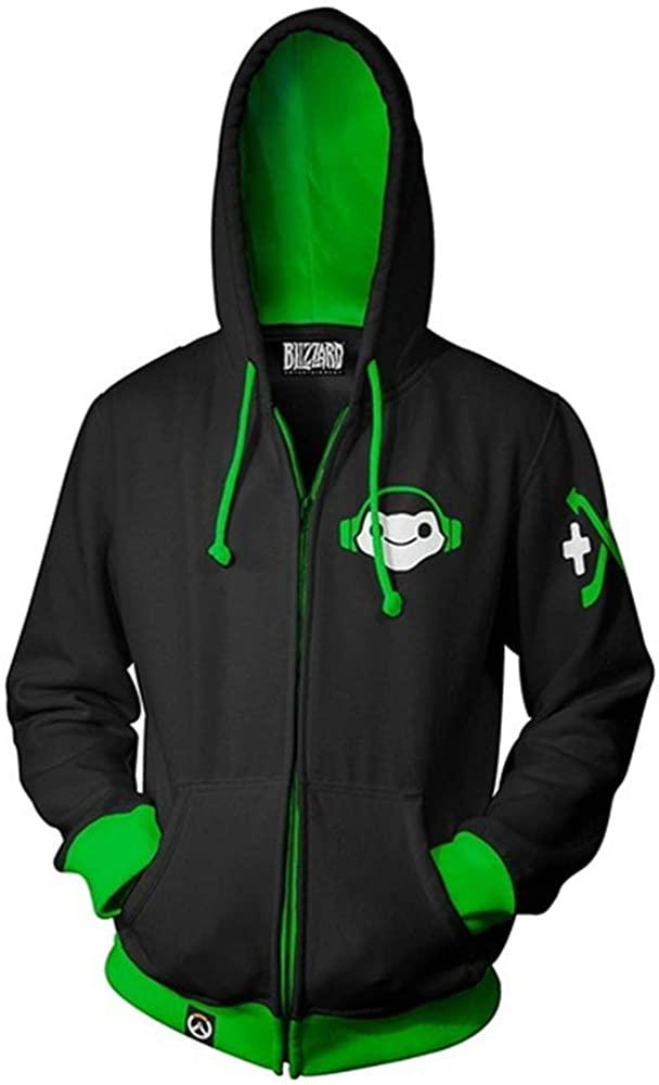 BESTcos DJ Lúcio Correia Dos Santos Costume Hooded Sweatshirt Hoodie Zipper Jacket