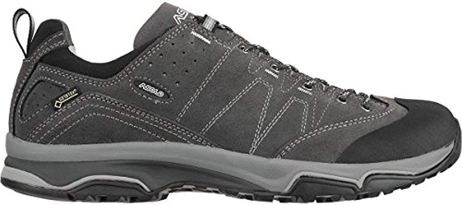 Asolo Men's Agent EVO GV Hiking Shoe & Knit Cap Bundle