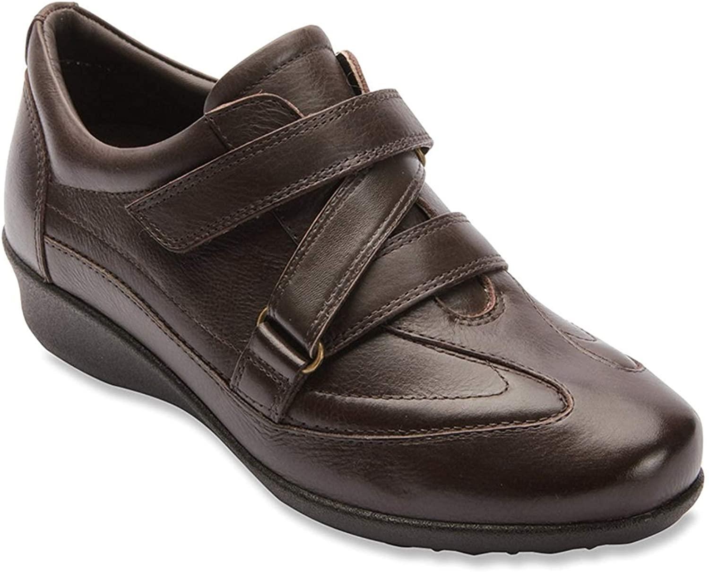 Drew Shoe Women's Cairo Sneakers, Brown Synthetic