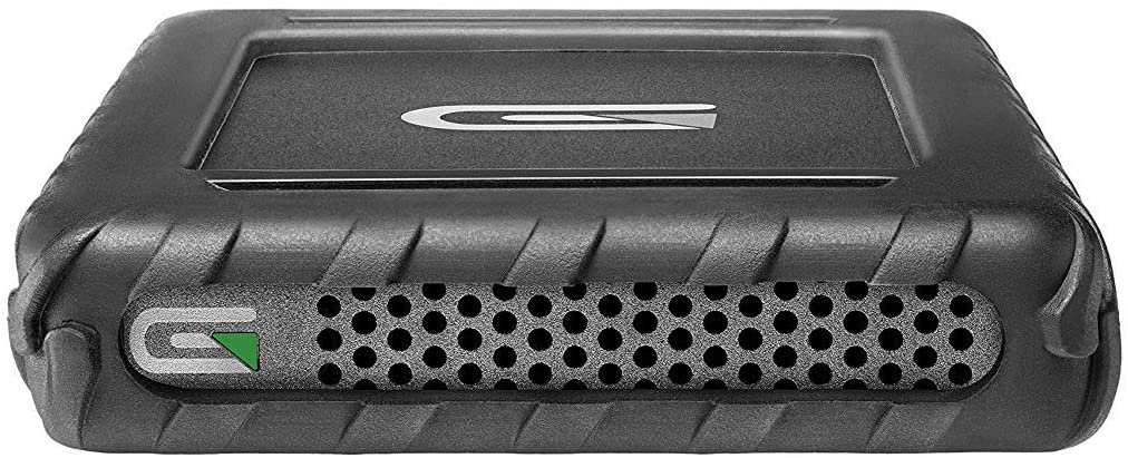 Glyph BlackBox Plus 500GB HDD Rugged Portable External Hard Drive with USB-C Connection - Compatible with Mac OS X, Windows, USB 3.0/2.0, Thunderbolt 3, Time Machine