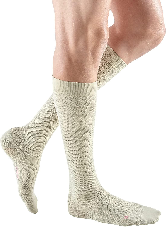 mediven for Men Select, 30-40 mmHg, Calf High Compression Stockings, Closed Toe