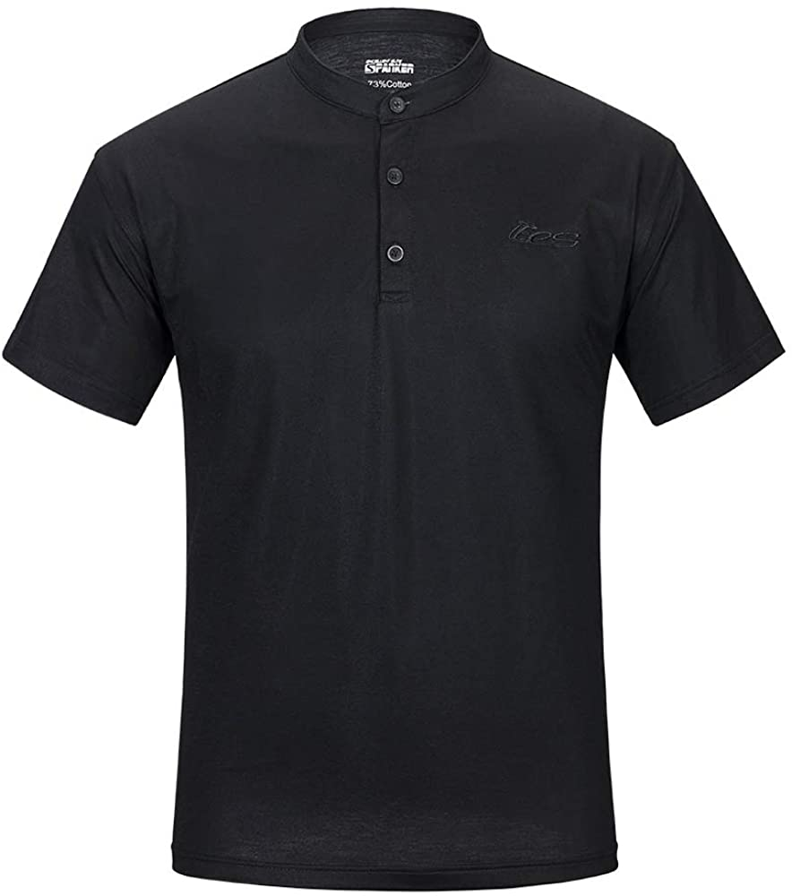 EXCELLENT ELITE SPANKER Sports Casual Short Sleeve Crew Neck Polo Shirt Polo T Shirts for Men