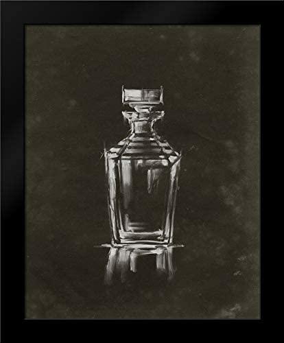 Harper, Ethan 20x24 Black Modern Framed Art Print Titled Crystal Barware IV