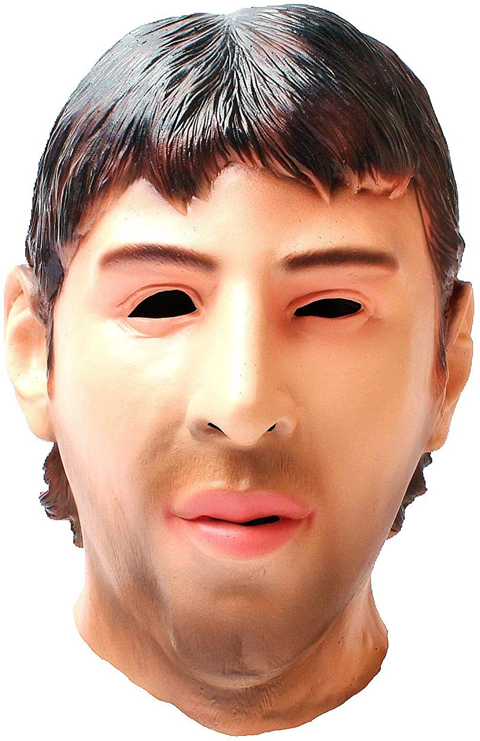 Lionel Messi Mask-Realistic Celebrity Mask-Halloween Novelty Costume Party Latex Full Head Mask Cosplay Props