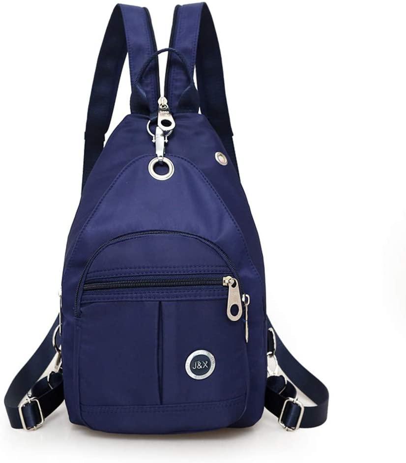 Mini Shoulder Backpack Waterproof Crossbody Sling Bag Small Daypack Casual Backpack Lightweight Purple Traveling Bag Anti Theft Backpack Book Bag for Women Girl
