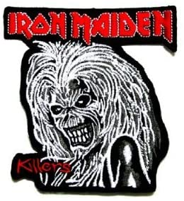 Iron Maiden killer rock music band Logo iron on patch great gift for Men and woman by KLB TRADE