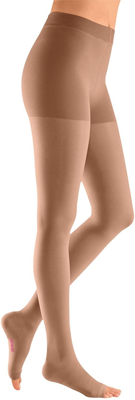 mediven Plus, 20-30 mmHg, Compression Pantyhose, Open Toe