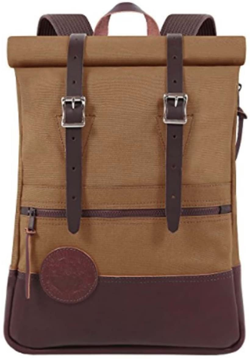 Duluth Pack Deluxe Roll Top Scout (Waxed Khaki)
