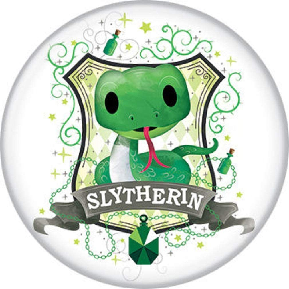 Ata-Boy Harry Potter Slytherin House 1.25 Collectible Pin-Back Buttons