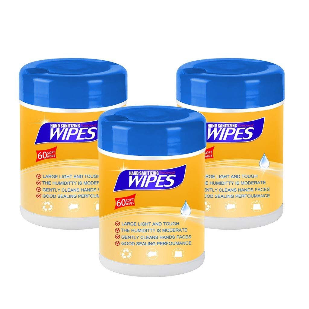 1PC/3PC/5PC/8PC Portable ᴅisin𝓕ection Wipes Moist Wipes with 75% A|c0h0| for Deep Cleaning Hands, Tables, Chairs, Toys, doorknobs and Toilet mats seat,Best for Public Places