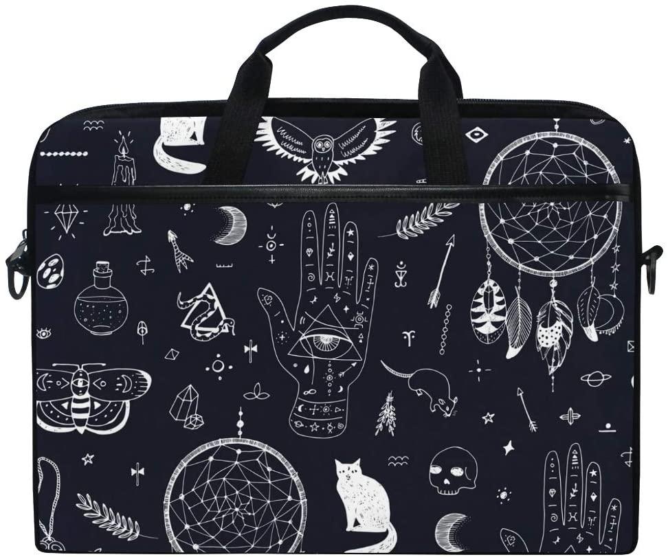 Laptop Bag Briefcase Dreamcather Shoulder Messenger Tablet Bag Business Carrying Handbag Working Computer Bag Fit 15-15.4 inch MacBook