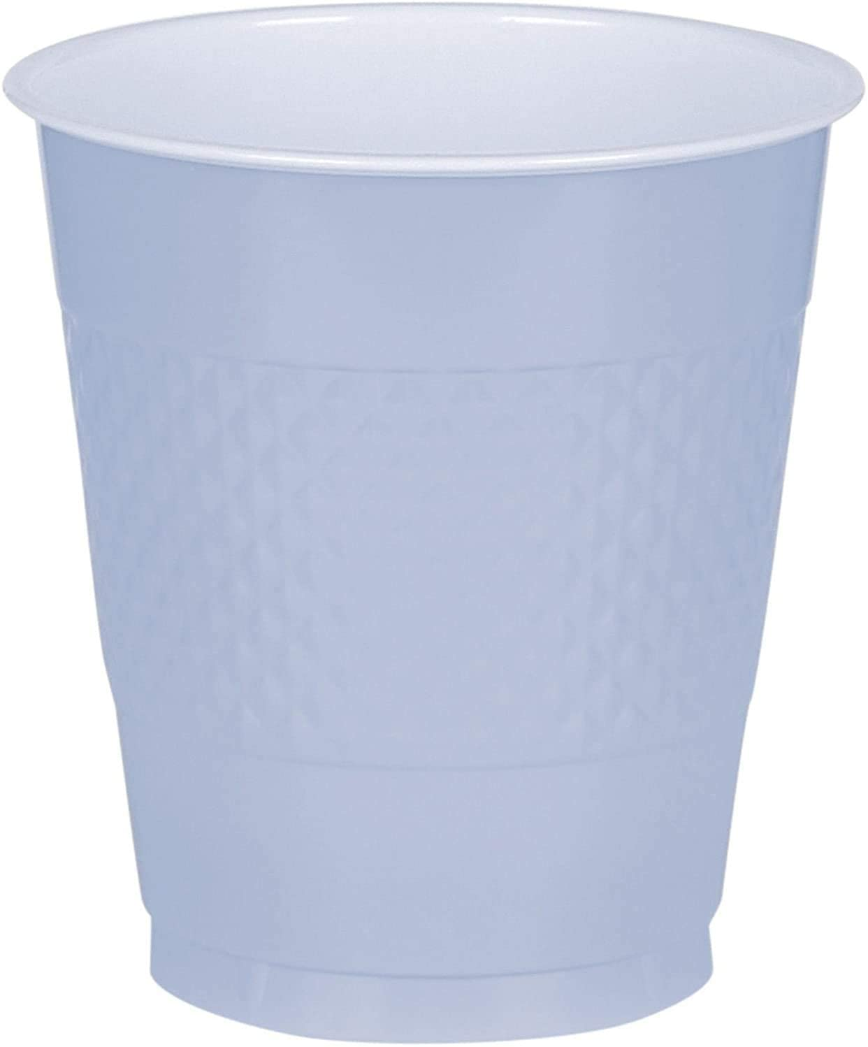 Amscan Pastel Blue Plastic Cups, 9 Oz., 20 Ct.   Party Tableware