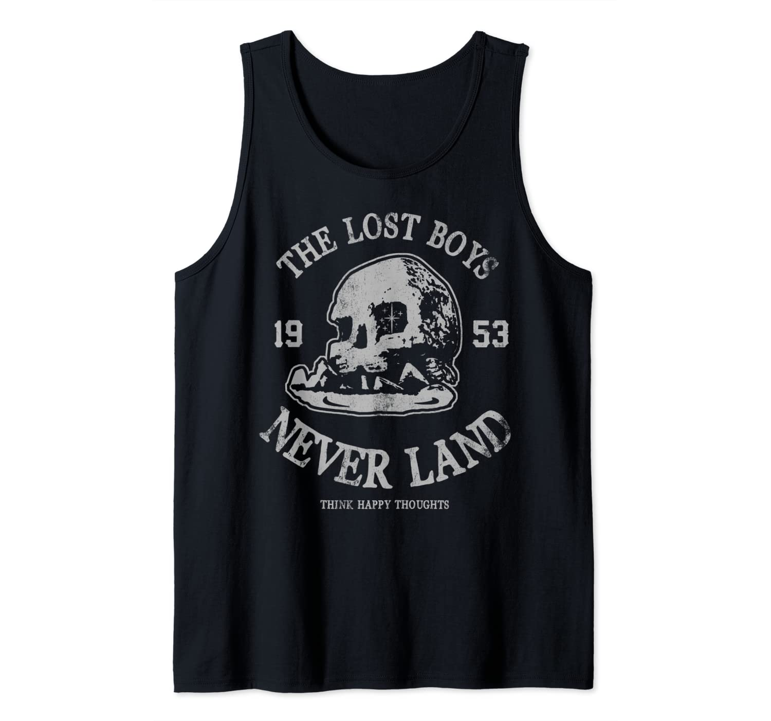 Disney Peter Pan The Lost Boys Think Happy Thoughts Tank Top