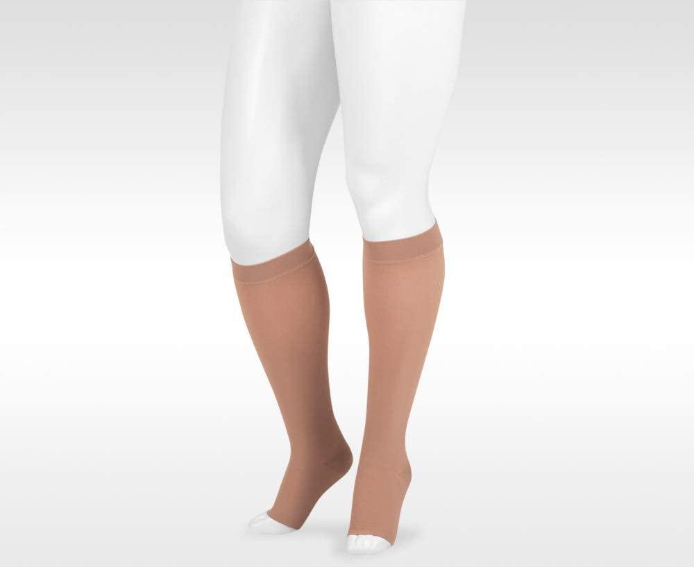 Juzo Dynamic Varin 3513 Knee-High 40-50mmhg Open Toe Sock for Men & Women