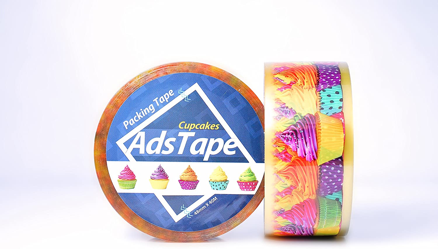 Colorful Design Cellophane Adhesive Tape Funny Home Decor (Cup Cake)