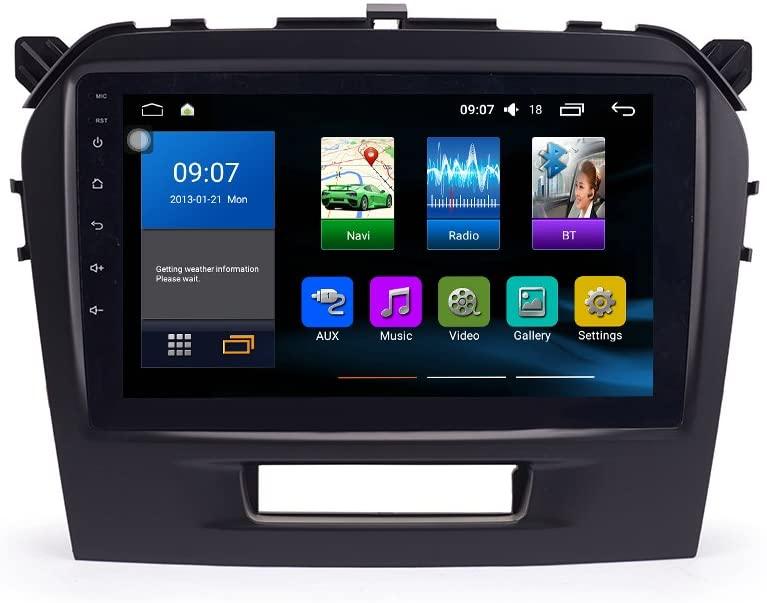Android 9.1 Octa Core 4GB Ram 64GB ROM DSP CarPlay GPS Radio Car Navigation for Suzuki Vitara 2015-2018