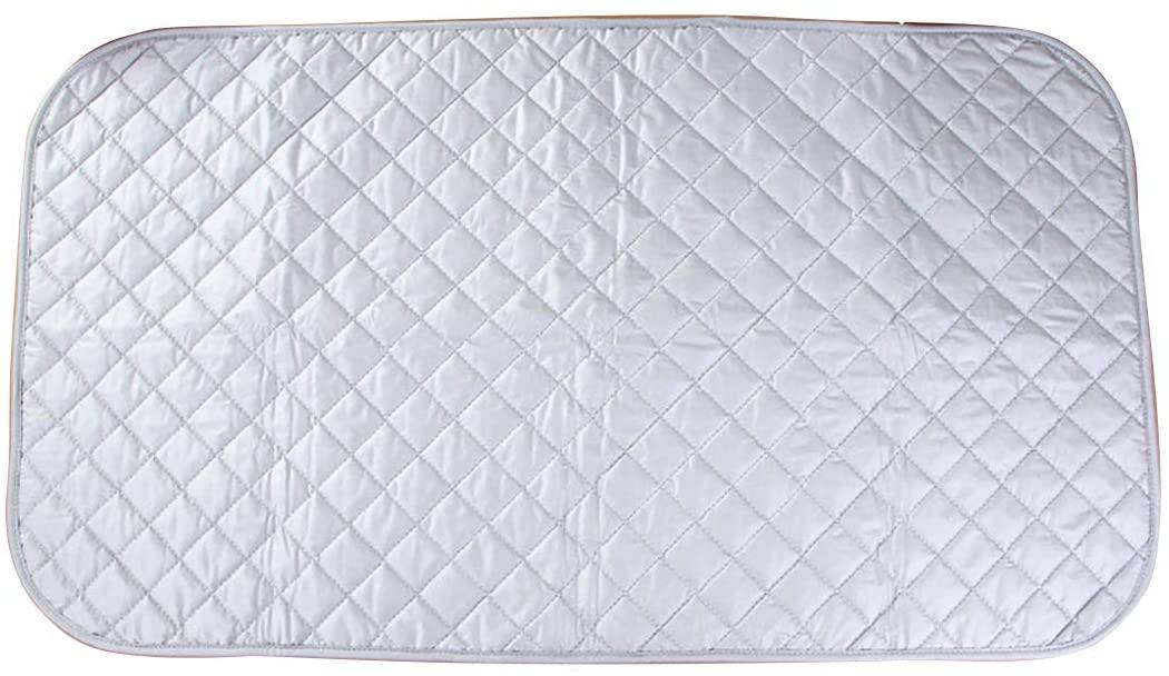 YUPPIE TONE Ironing Blanket Mat Laundry Pad Portable Folding Cotton Ironing Blanket 48 x 85 cm