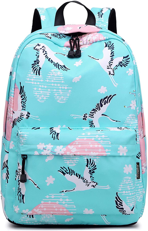 Teecho Stylish Bookbags for Women Cute Laptop Backpack for Girl