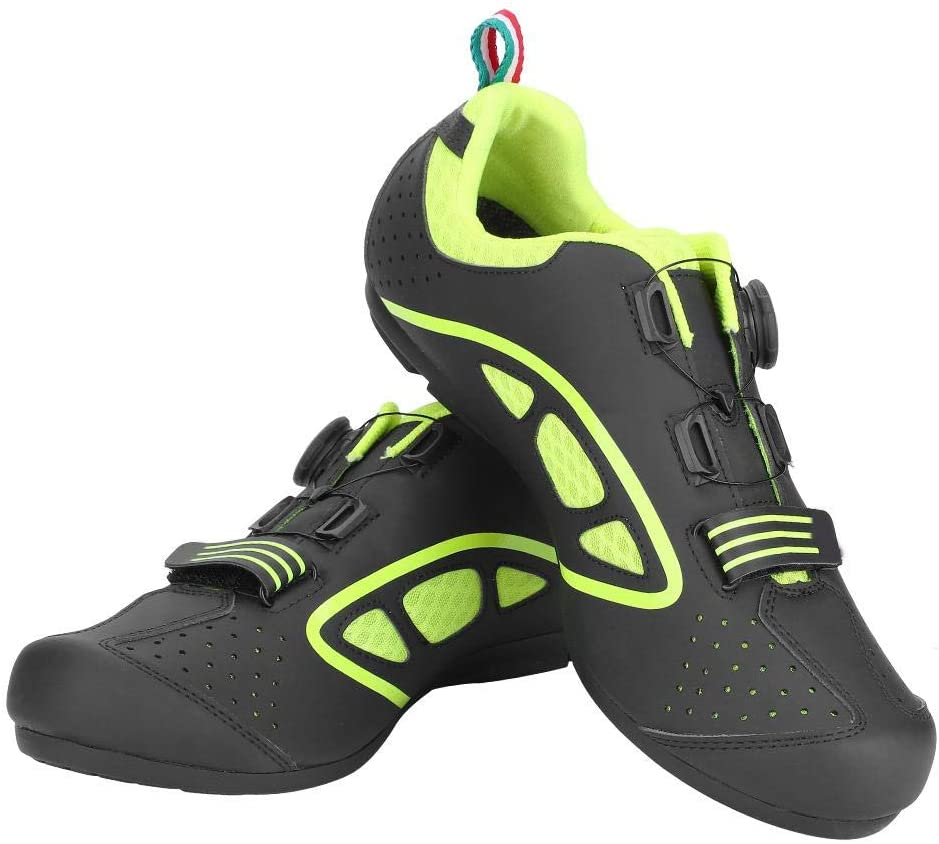 VGEBY Cycling Shoes, Lightweight Comfortable Anti-Skid Men's Road Cycling Shoes