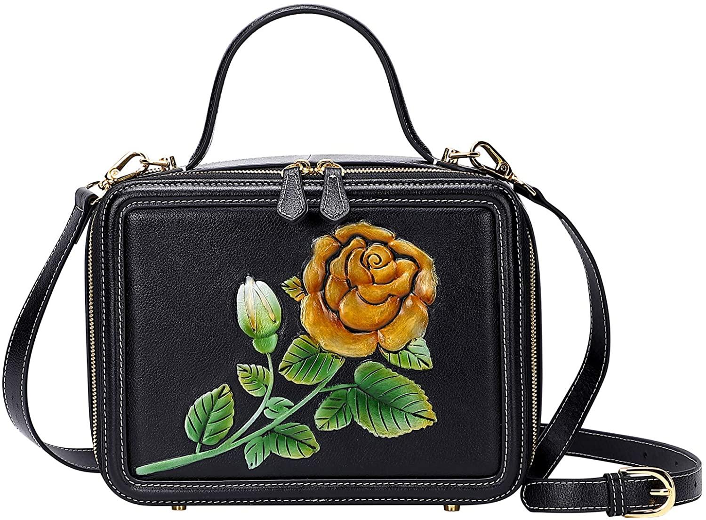 PIJUSHI Designer Handbags For Women Top Handle Satchel Bags Crossbody Handbag