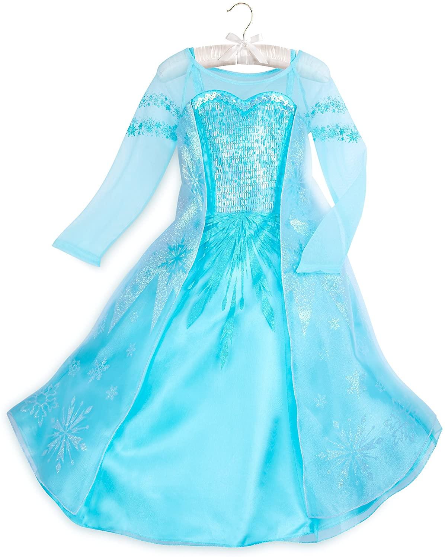 Disney Elsa Costume for Kids - Frozen Size 9/10 Blue