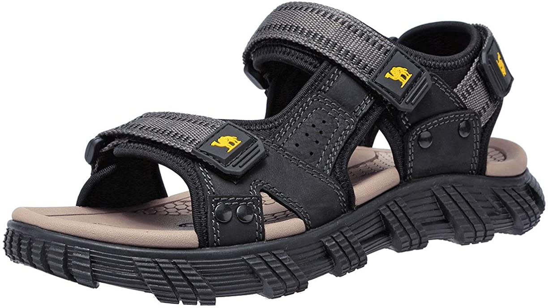 CAMEL CROWN Men's Waterproof Hiking Sandals Outdoor Water Shoes Anti-Slip Adjustable Opened Toe Athletic Sport Sandals for Men