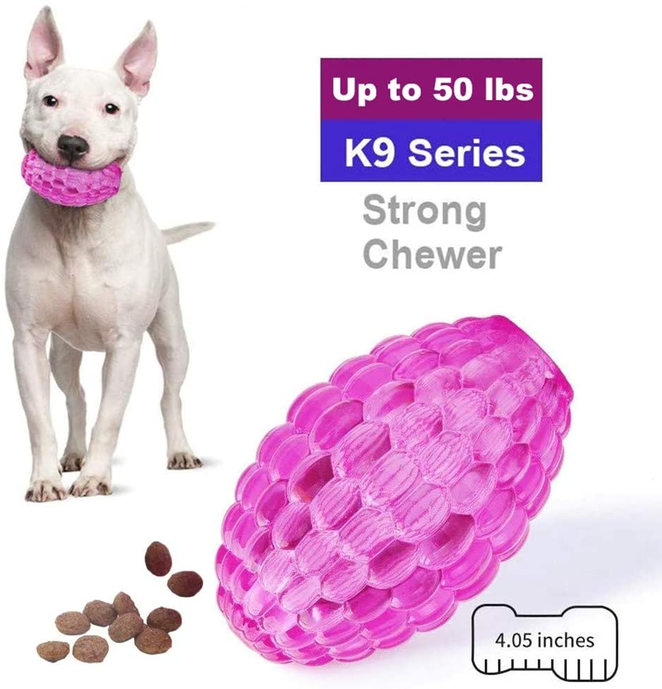 EETOYS K9 Max Series Durable Dog Toys for Aggressive Chewers Lifetime Replacement Guaranteed TPE Rubber for Puppy, Small and Medium Dogs