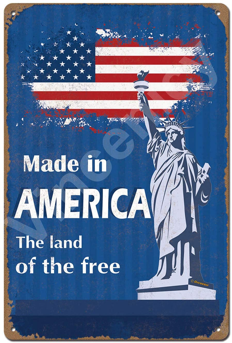 Made in America. The Land of The Free. 8