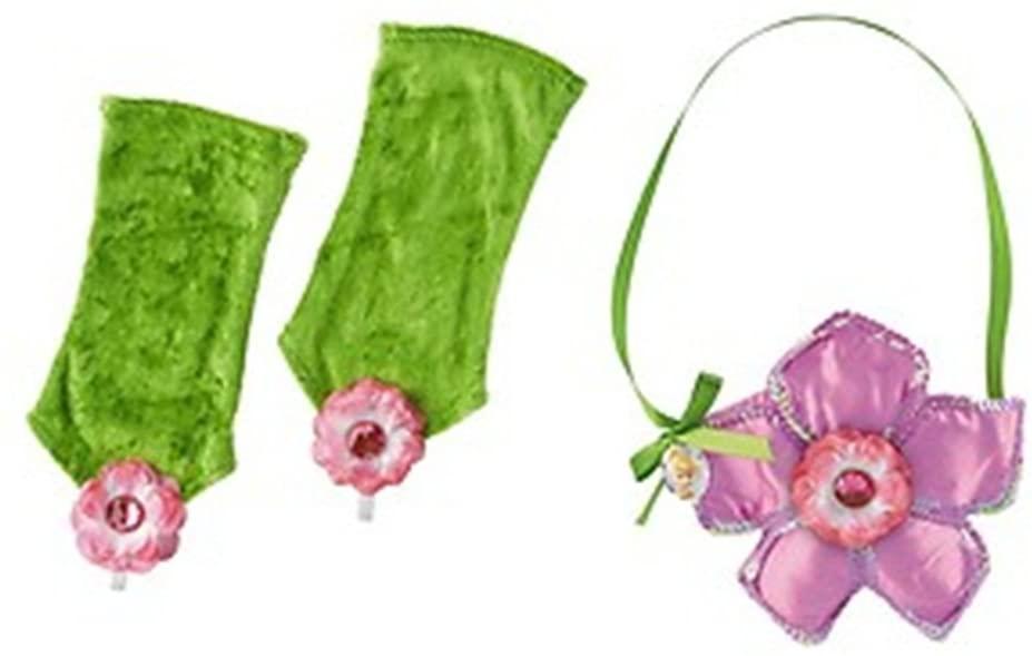Disney Tinker Bell Fairy Costume Purse & Gloves Set