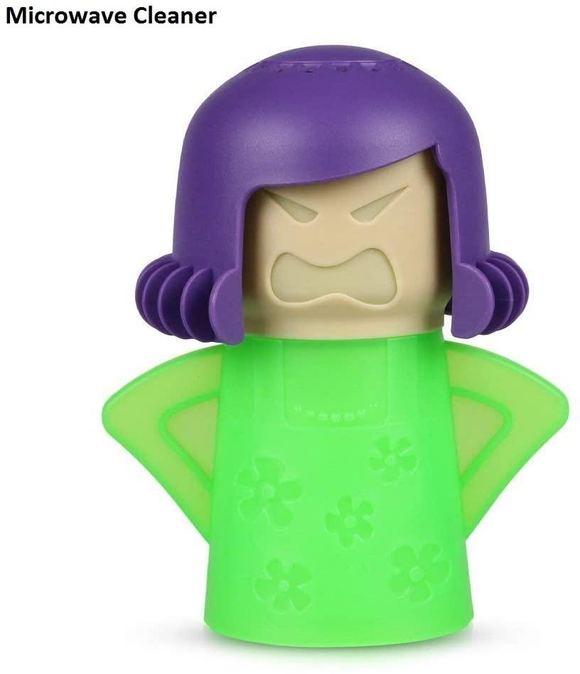 Chilly Mama Fridge Deodoriser Angry Mama Fridge Cleaner Freezer Odor Freshener Remover, Just Add Baking Soda- Blue Mama (Green mom)